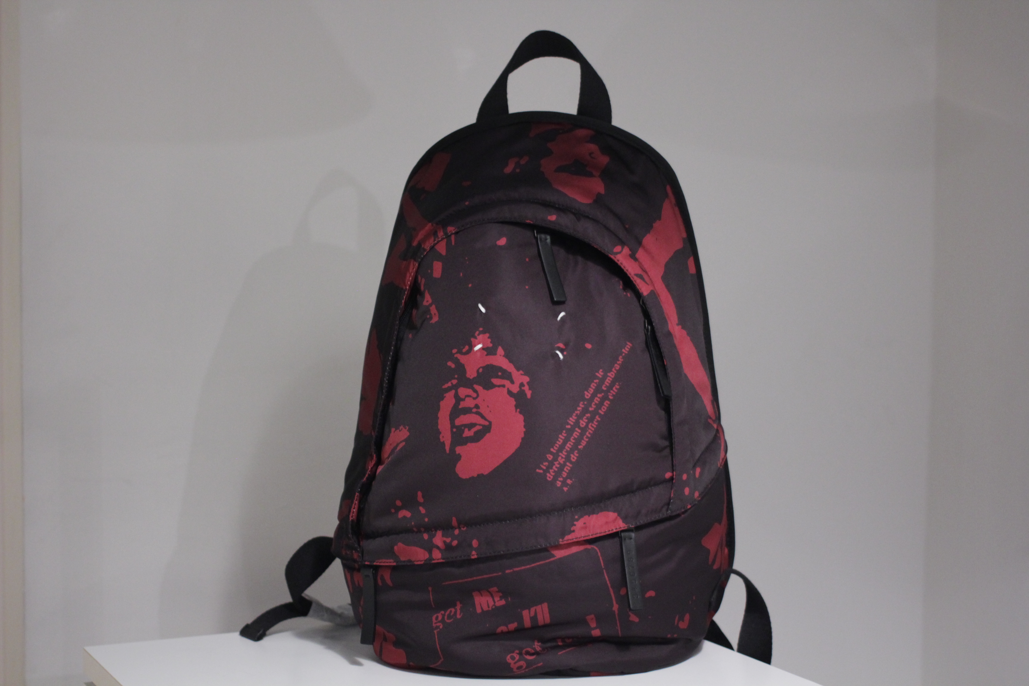 Maison Margiela / Rock Print Back Pack