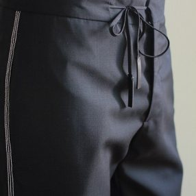 Maison Margiela 16-17AW / Drawstring Side Stitch Pants