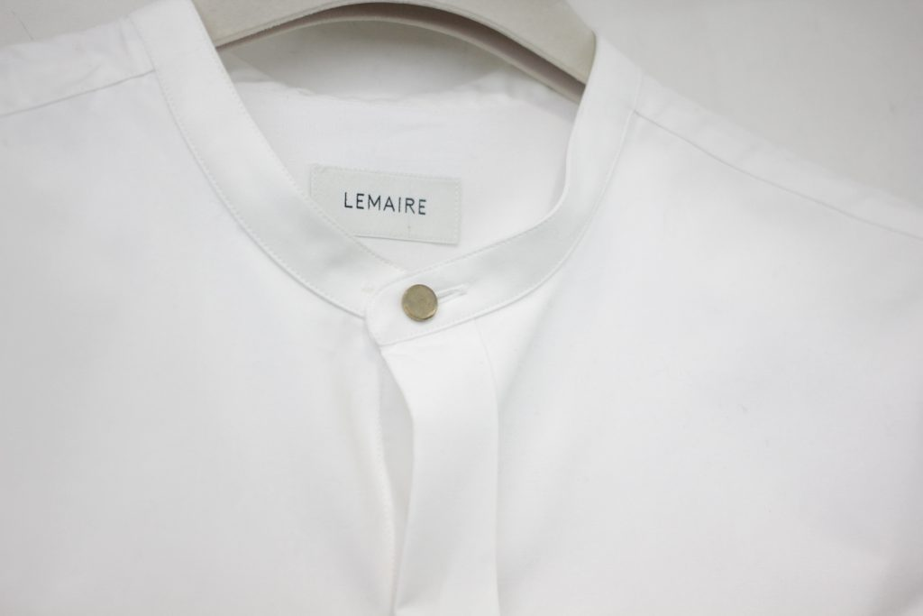 LEMAIRE 16-17AW / Stand Collar Shirt