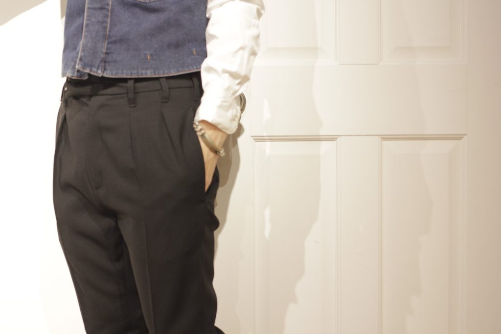 ANN DEMEULEMEESTER  tapered pants
