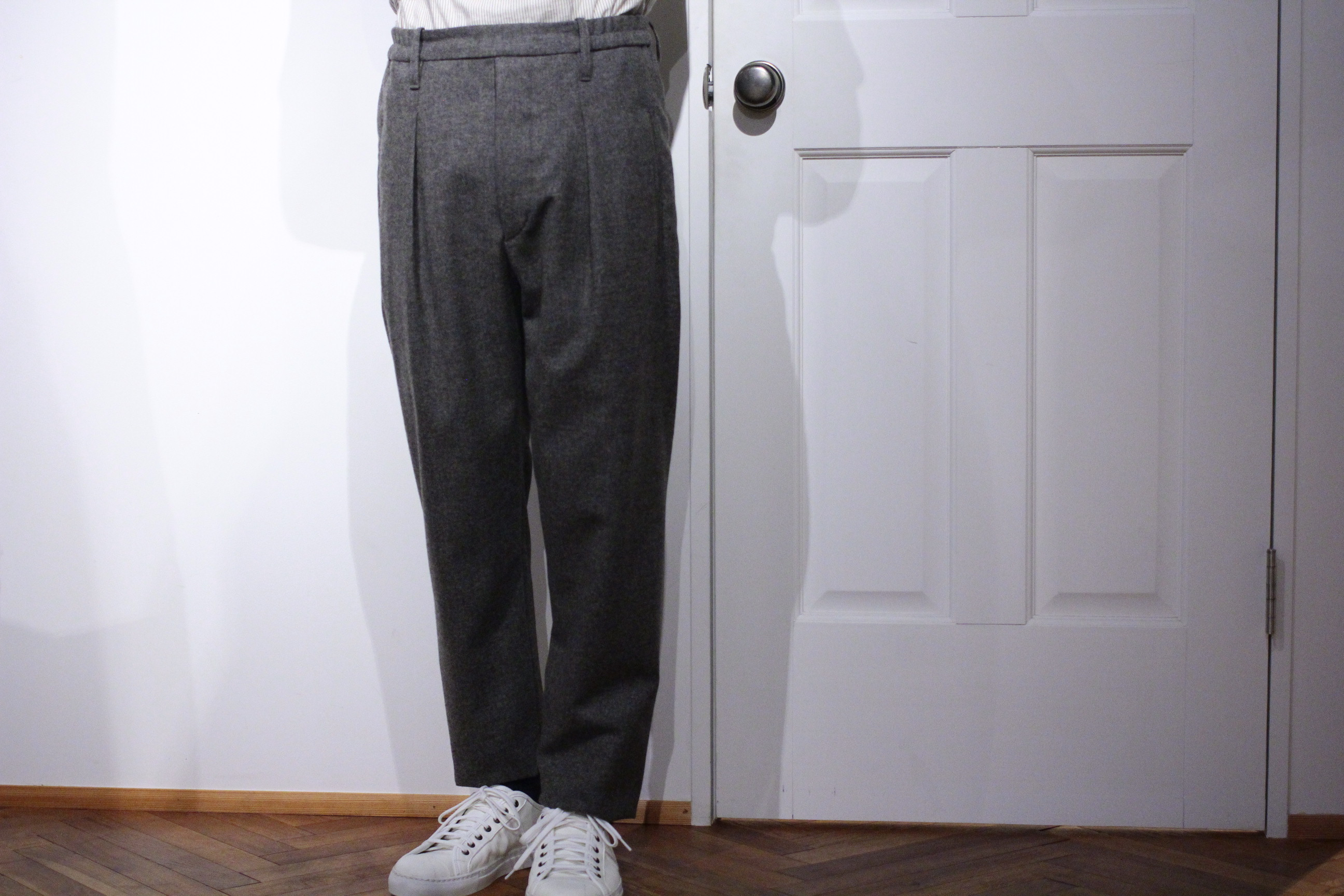 LEMAIRE / Wool trousers