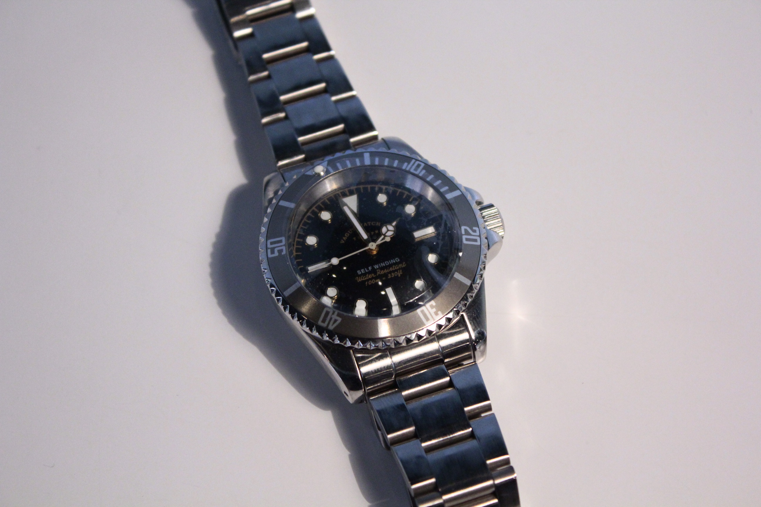 VAGUE WATCH GRY-FAD