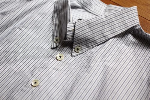Geoffrey B.Small   button-down collar long shirt &stock