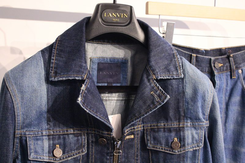 LANVIN  2TONE  DENIM JACKET