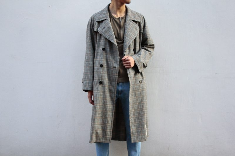 MAISON MARGIELA  DOUBLE BRESTED TRENCHCOAT