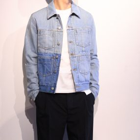 MAISON MARGIELA Super Bleach Denim Jacket & Vest