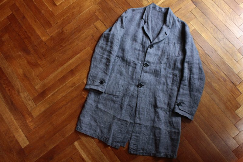 Geoffrey B.Small long work jacket