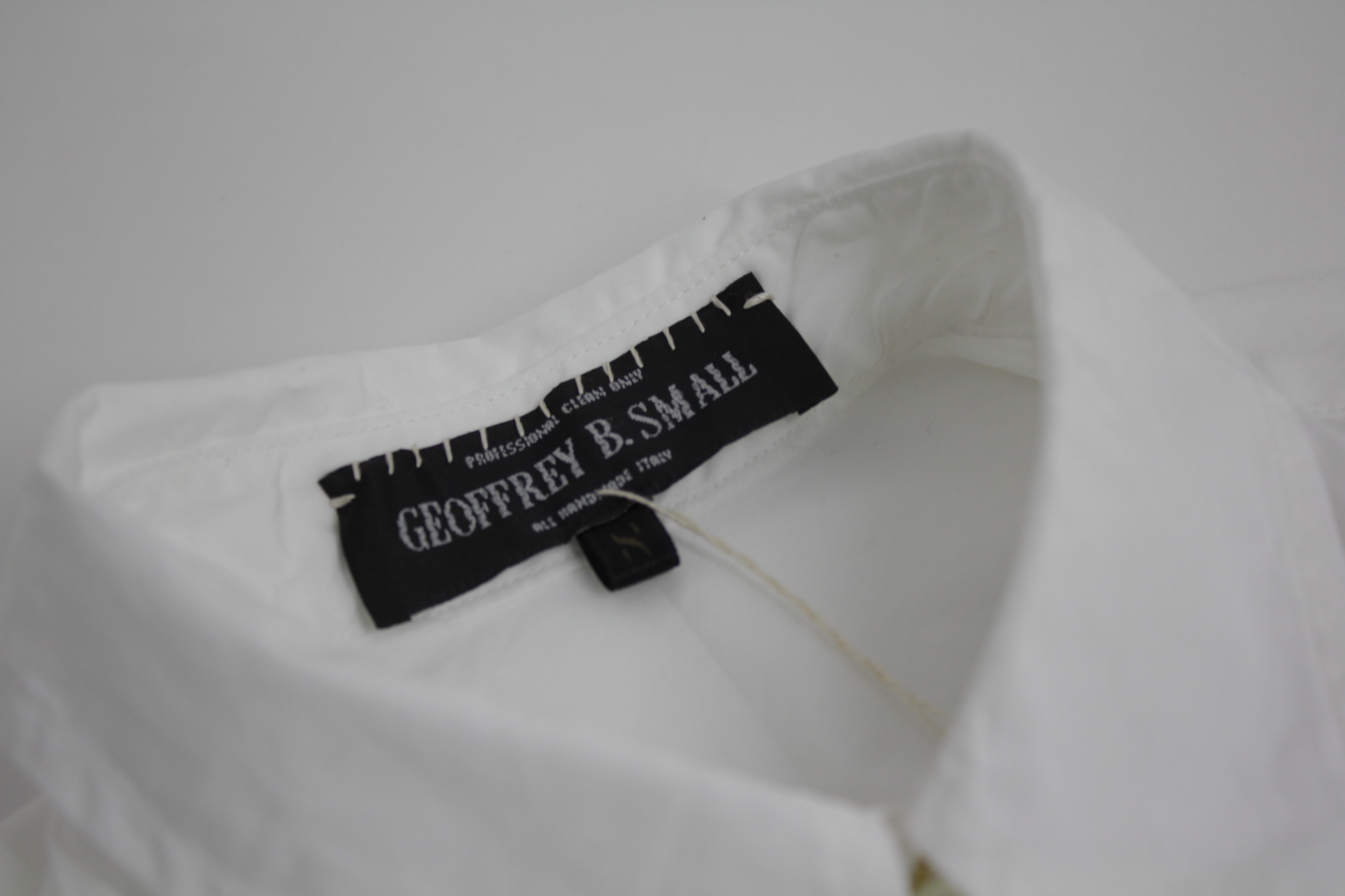 Geoffrey B.Small  long tailored shirt