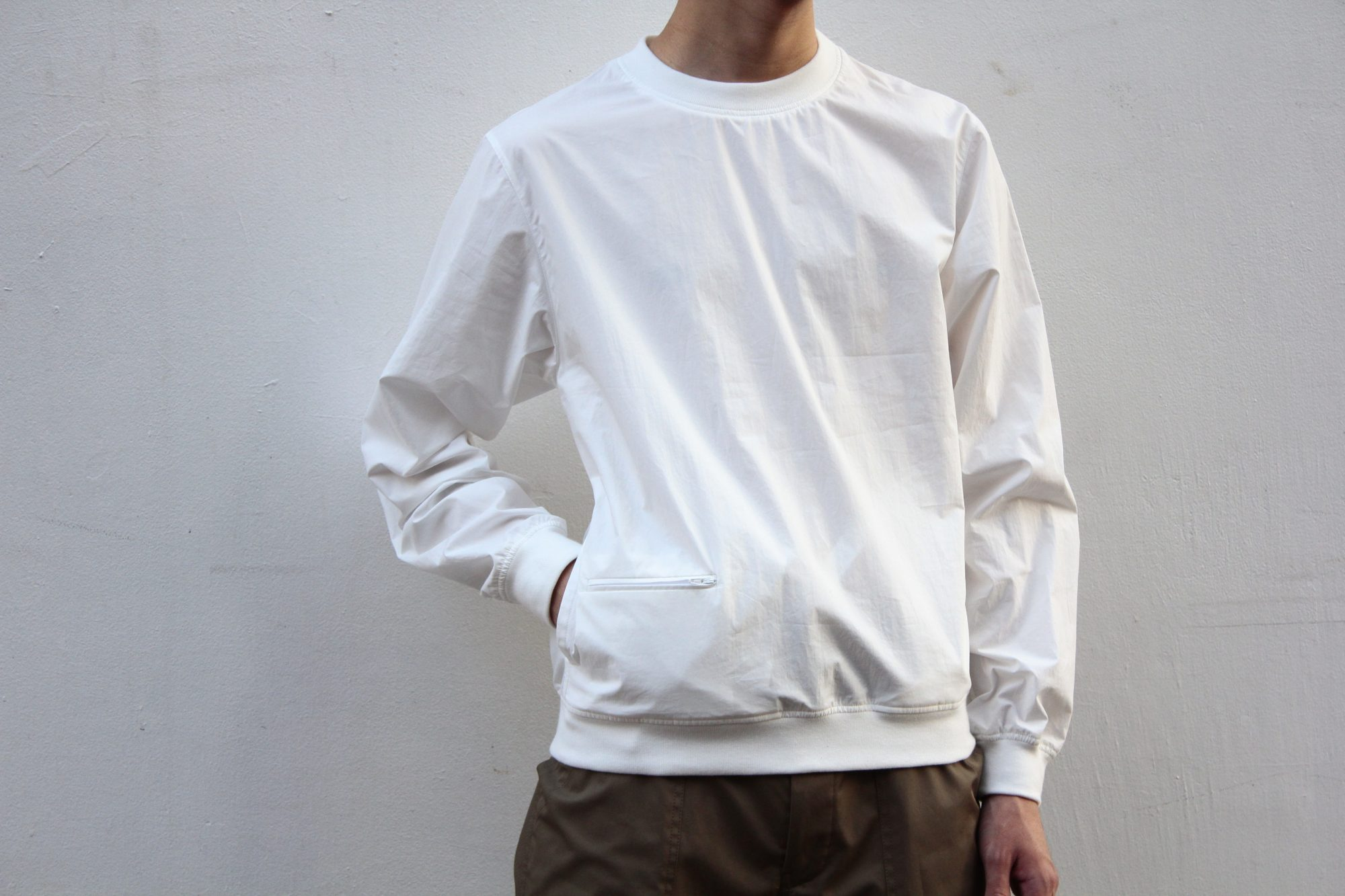 LEMAIRE REBBED TEE SHIRT