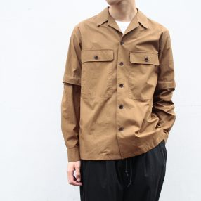 LEMAIRE / Detachable Sleeve Overshirt