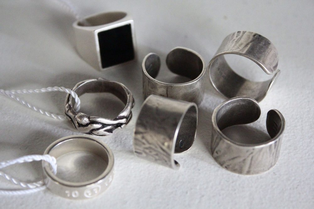 MAISON MARGIELA 17-18AW RING COLLECTION