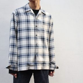 MISON MARGIELA Loose Open Collar Shirt