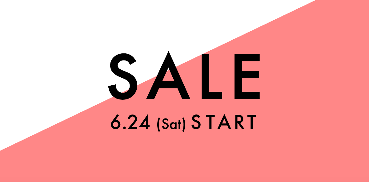 HUES SUMMER SALE 6.24(Sat) START!!!