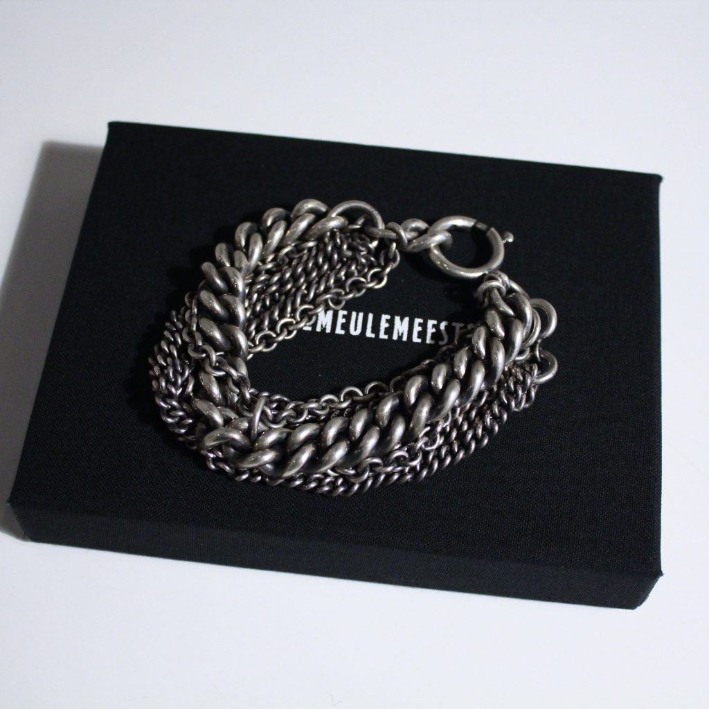ANN DEMEULEMEESTER Bracelet Wrapped Heavy Chains