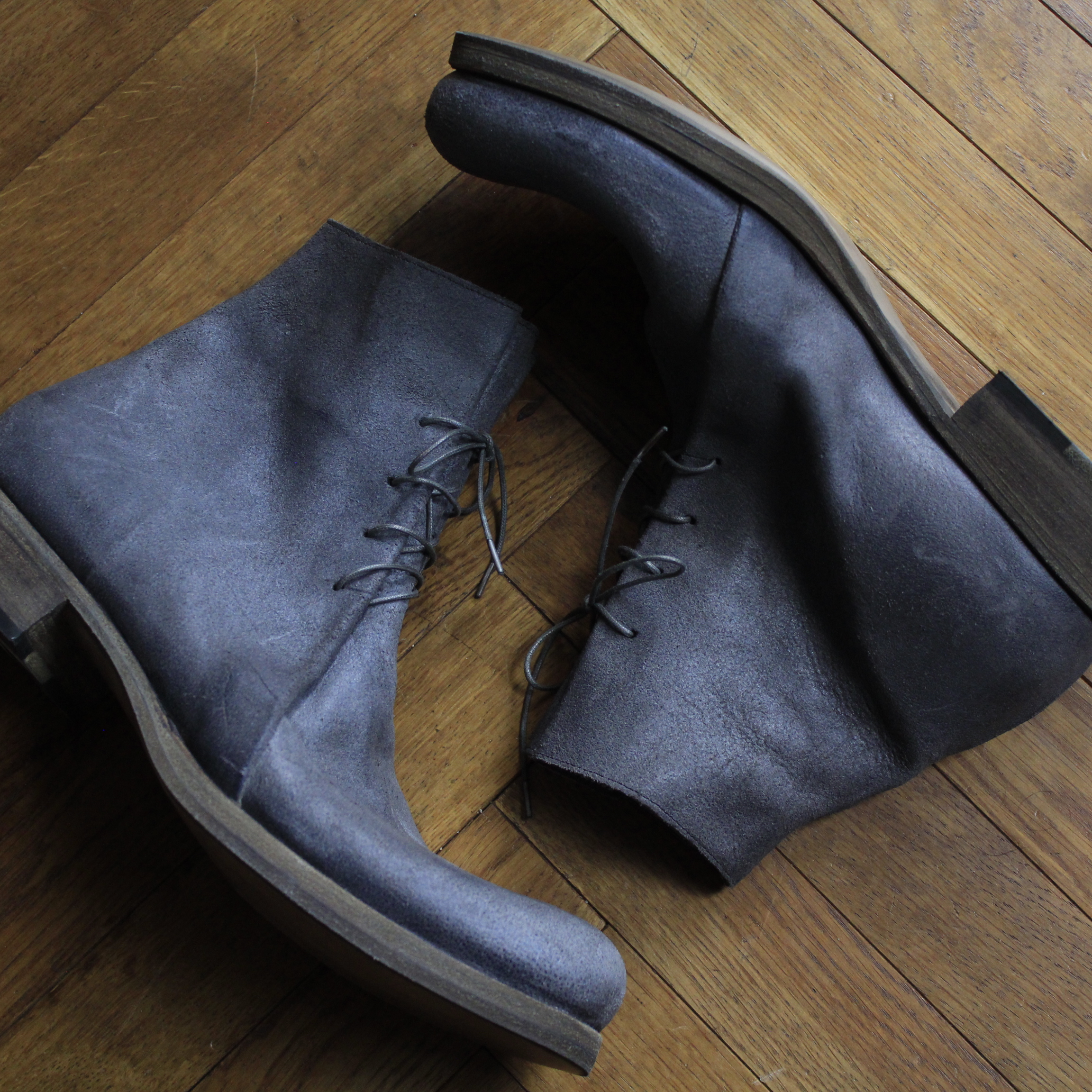 m.a+  Double Fold Ankle Boot