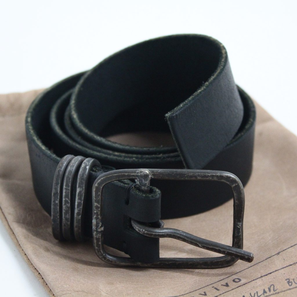 tagliovivo Rectangular Ring Belt