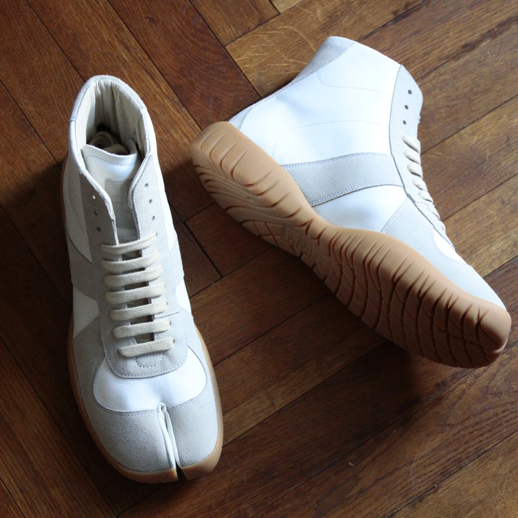MAISON MARGIELA   Tabi German Trainer High Cut