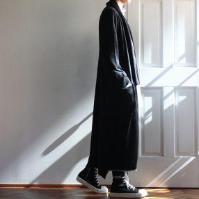 YOHJI YAMAMOTO Stole Knit Cardigan