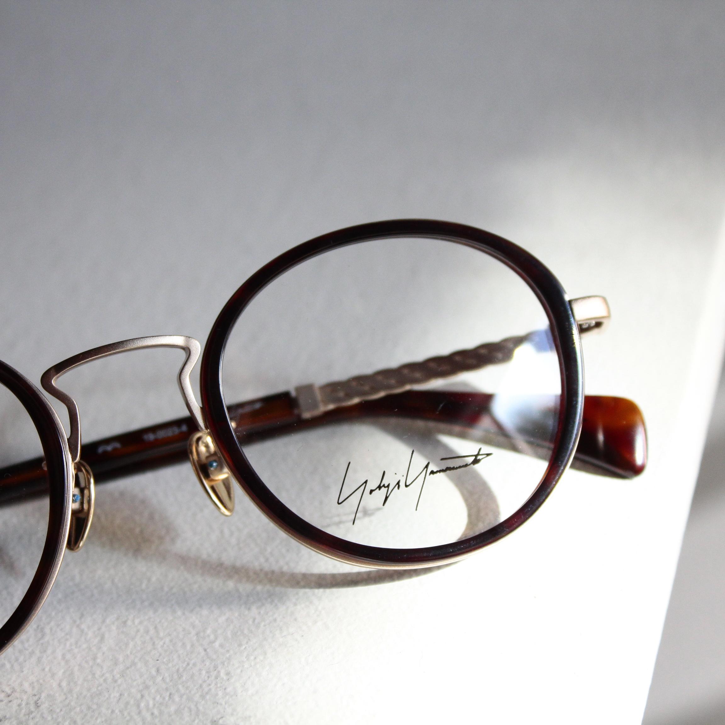 YOHJI YAMAMOTO Recommend Eyewear Collection