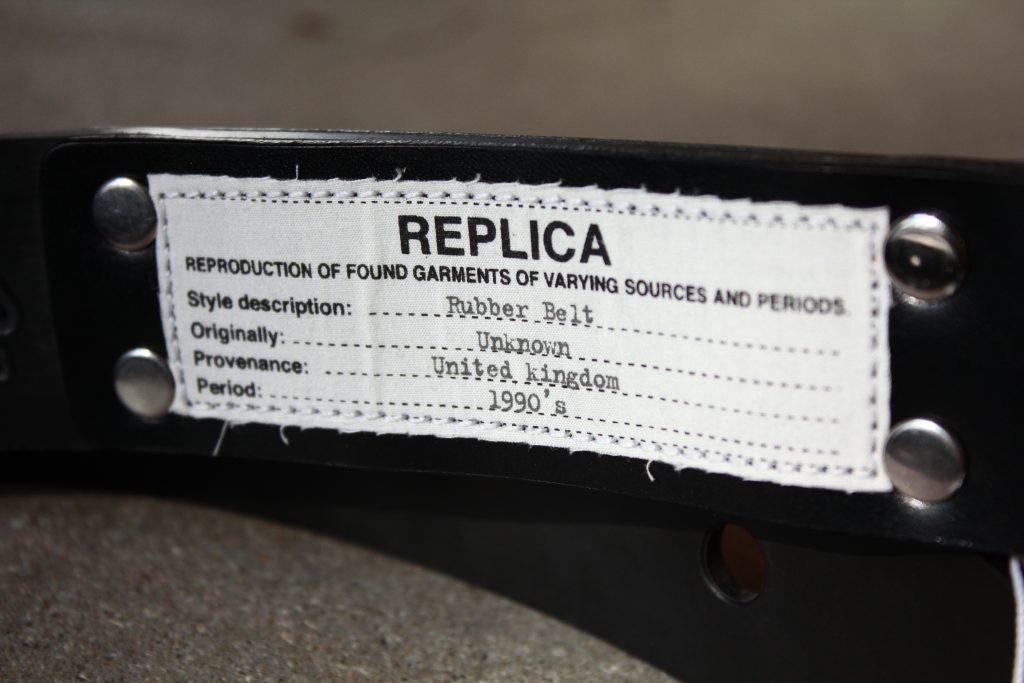Maison Margiela REPLICA Rubber Belt