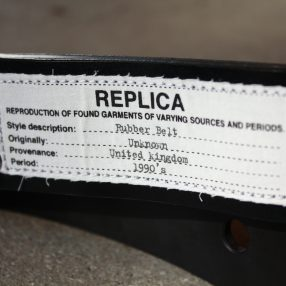 Maison Margiela REPLICA Rubber Belt