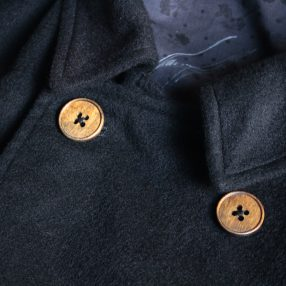 Geoffrey B.Small  double-breasted atelier work coat