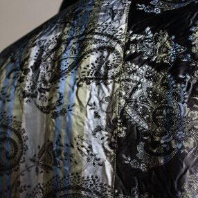 Geoffrey B.Small  notch-lapel long wrap fully-lined  jacket