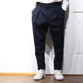 RAINMAKER Pleated Trousers