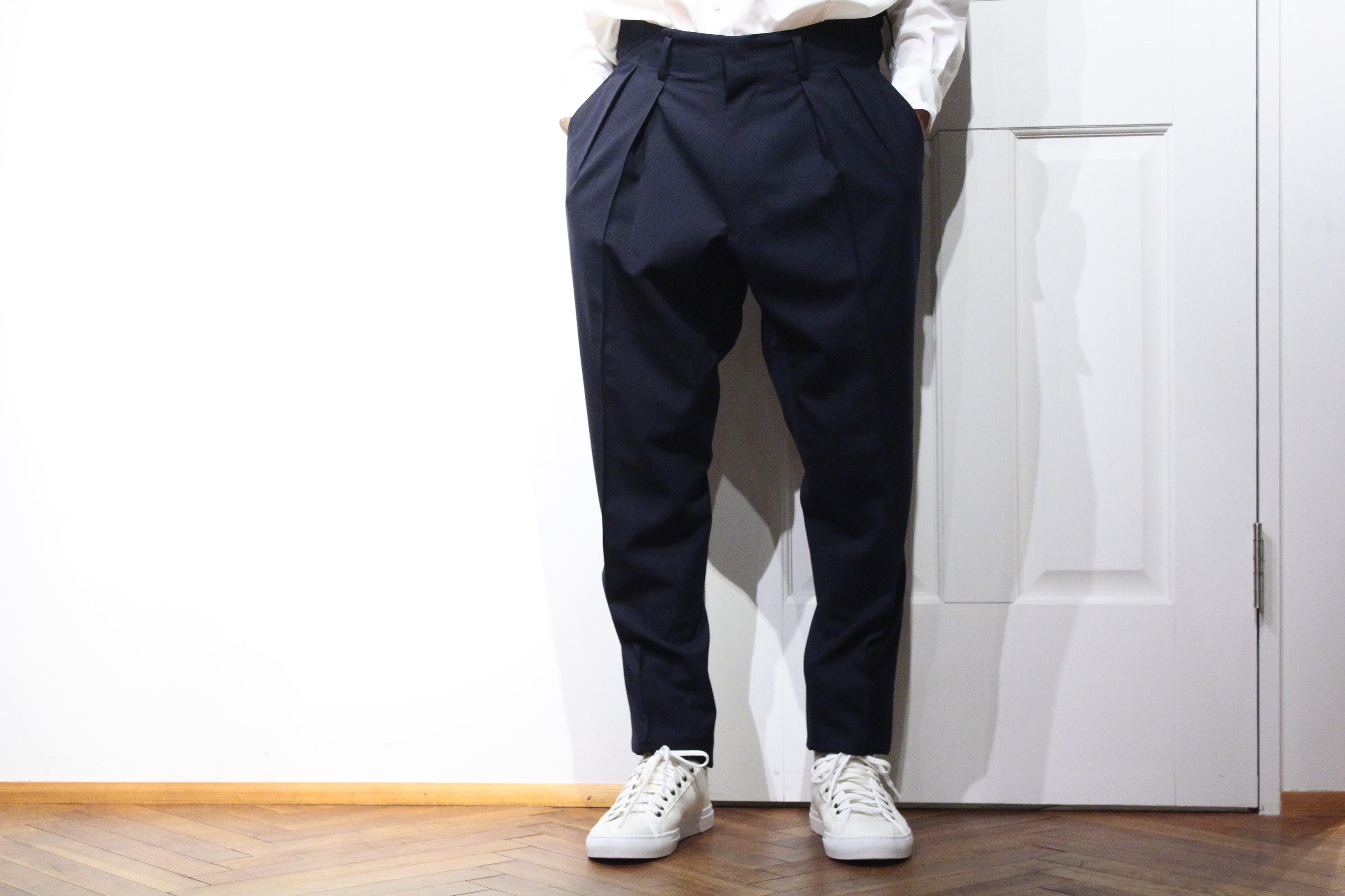 RAINMAKER Pleated Trousers