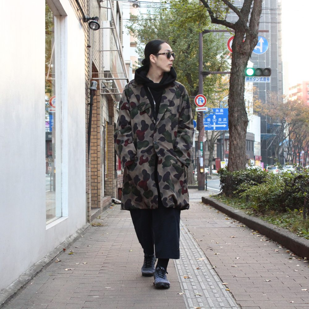 Styling YOHJI YAMAMOTO Camouflage Reversible Coat