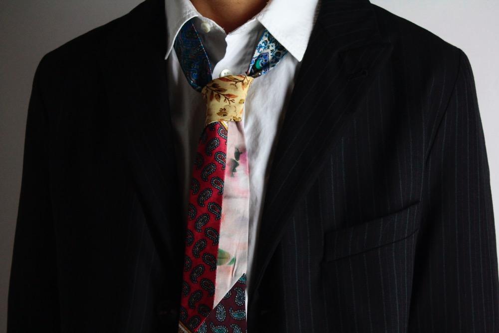 Geoffrey B.Small Patchwork Tie