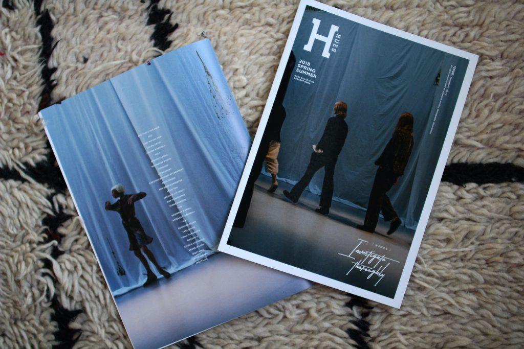 HUES Concept Book  Spring/Summer 2018