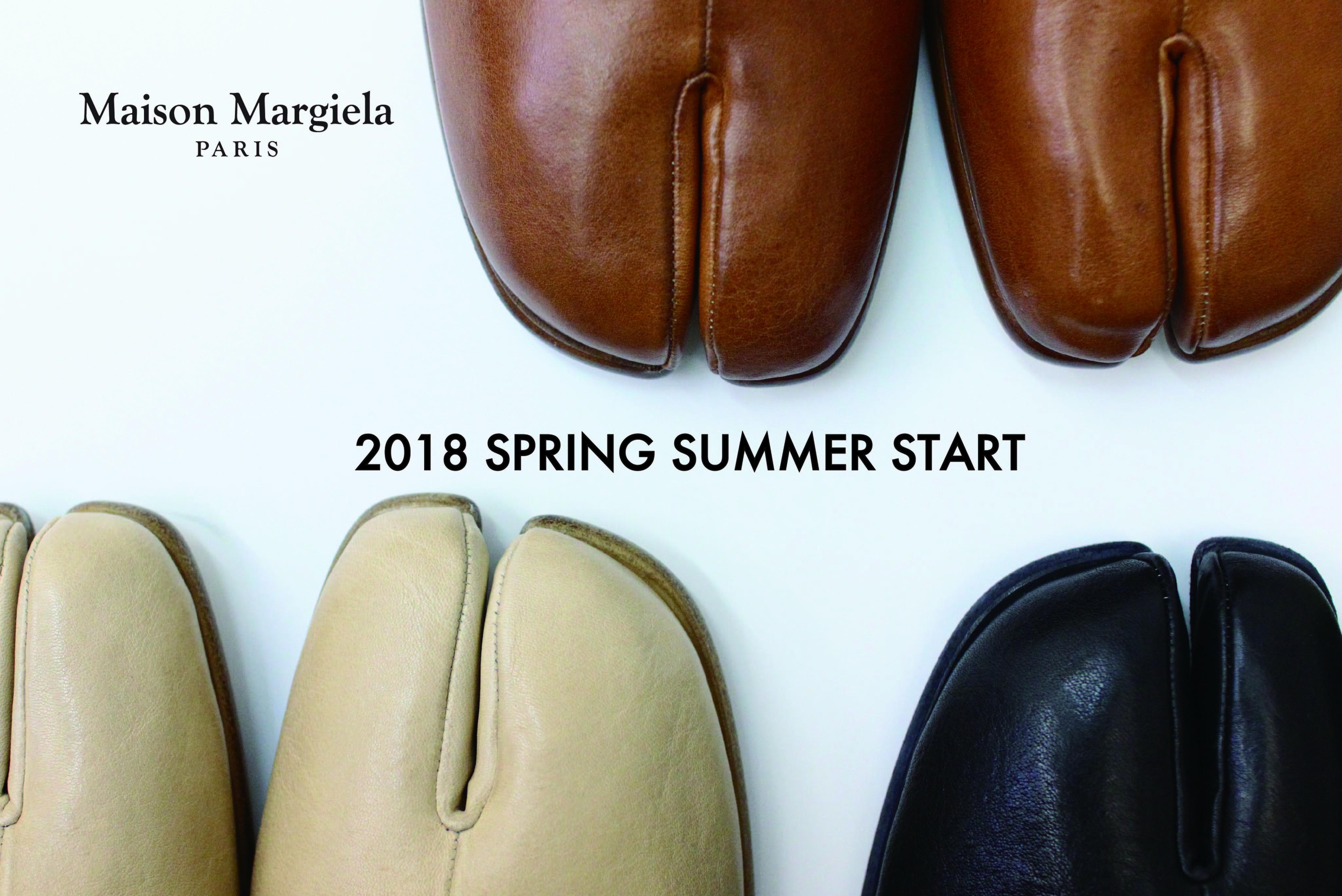 MAISON MARGIELA  18S/S 12.9 START!!
