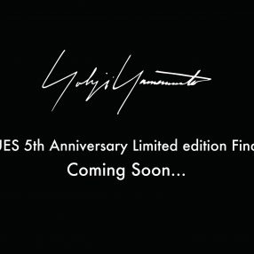 HUES 5th Anniversary Limited edition Final.YOHJI YAMAMOTO