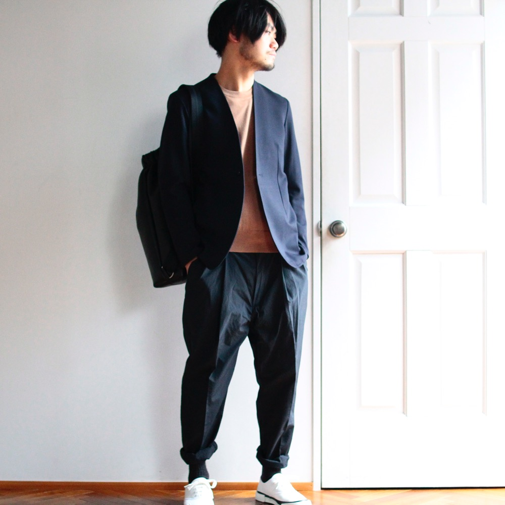 RAINMAKER KYOTO PONTE ROMA NO COLLAR JACKET