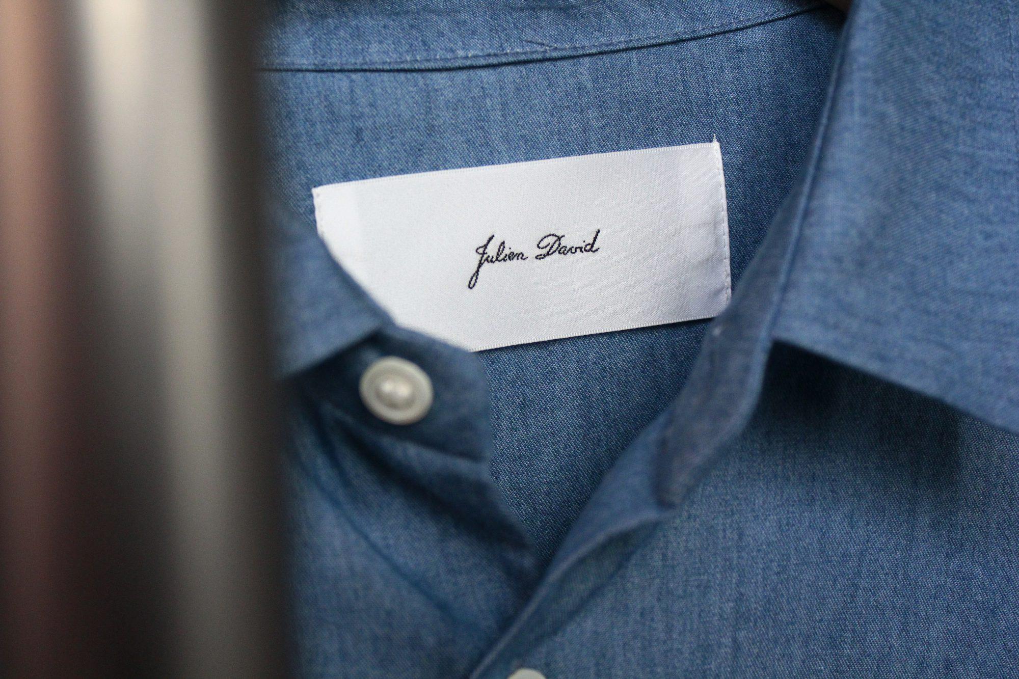 JULIEN DAVID 18ss Cotton Shirt