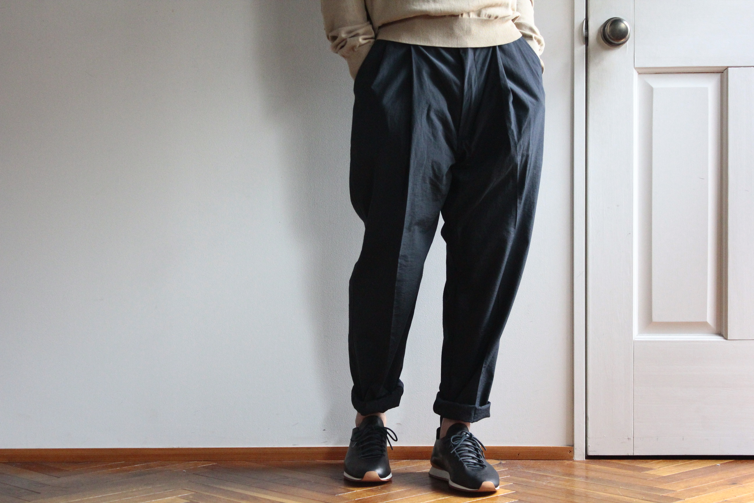 RAINMAKER BELTED TROUSERS