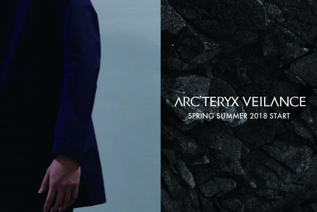 ARC'TERYX VEILANCE  SPRING SUMMER 2018  2.10(SAT) START