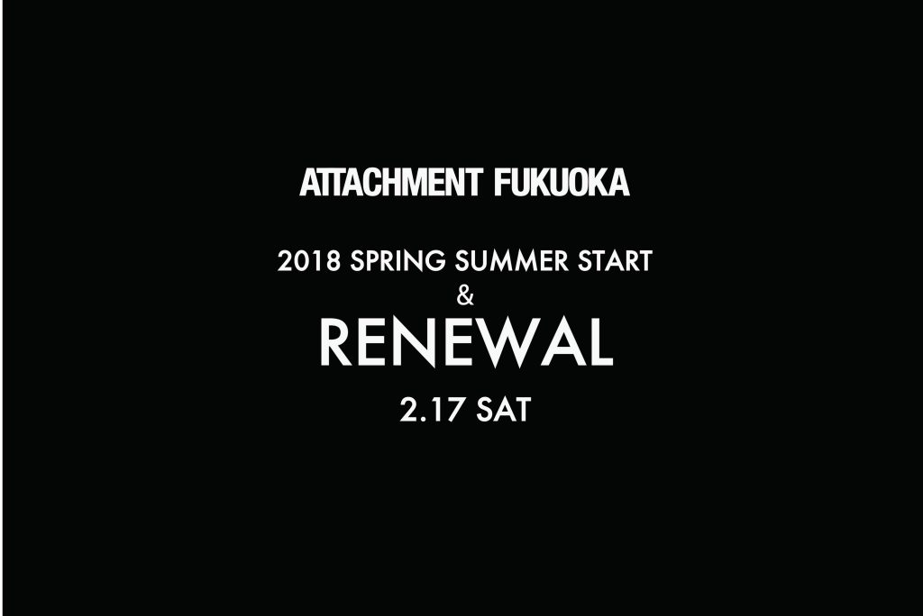 ATTACHMENT FUKUOKA SPRING START & RENEWAL 2.17 SAT