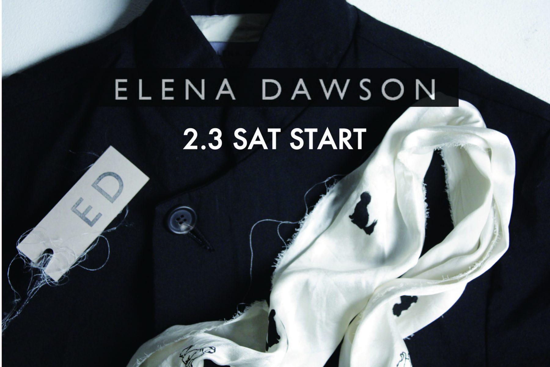"""NEW BRAND""""ELENA DAWSON"""" 2.3 release"""