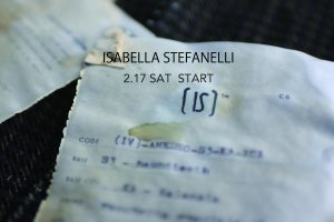 Isabella Stefanelli  2018 Spring/Summer Collection Start