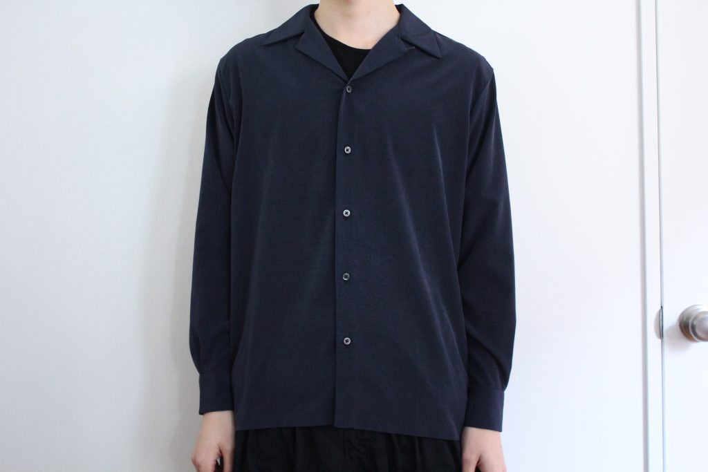 RAINMAKER  OPEN COLLAR SHIRT