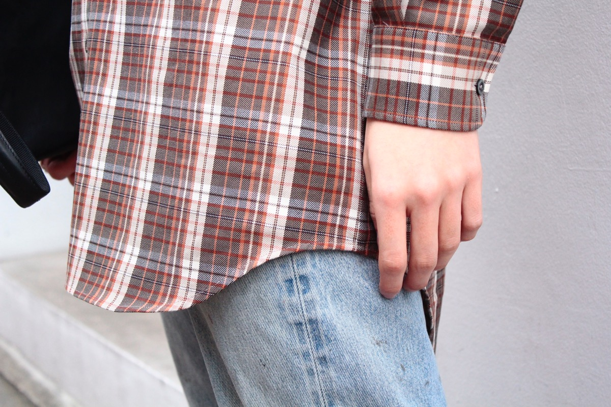 Maison Margiela Loose Check Shirt