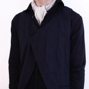 ARAKI YUU Cut Away Vest