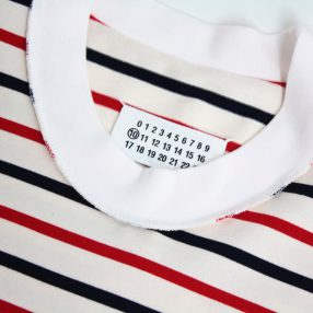 MAISON MARGIELA Striped Jersey L/S