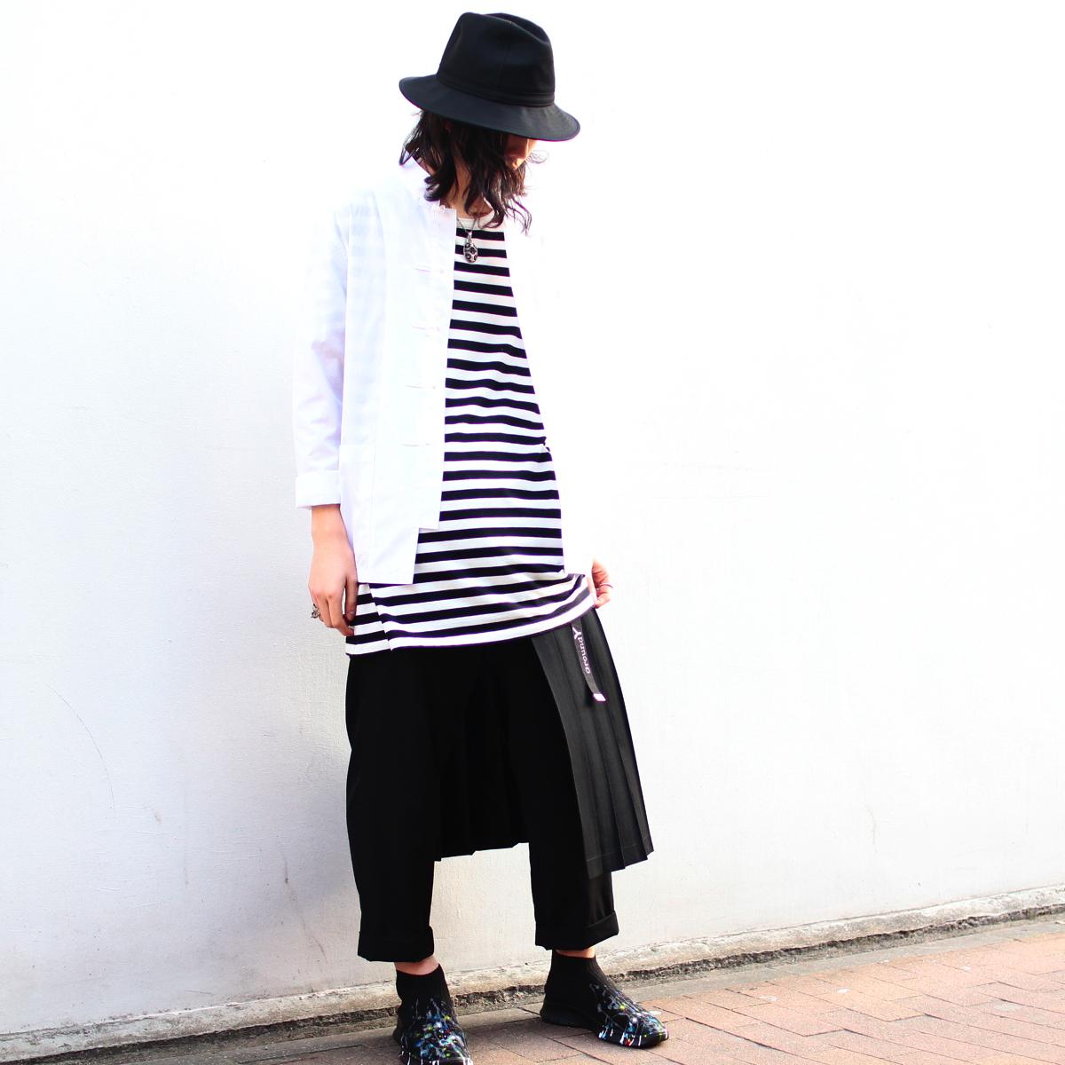 YOHJI YAMAMOTO Removable Pleat Pants