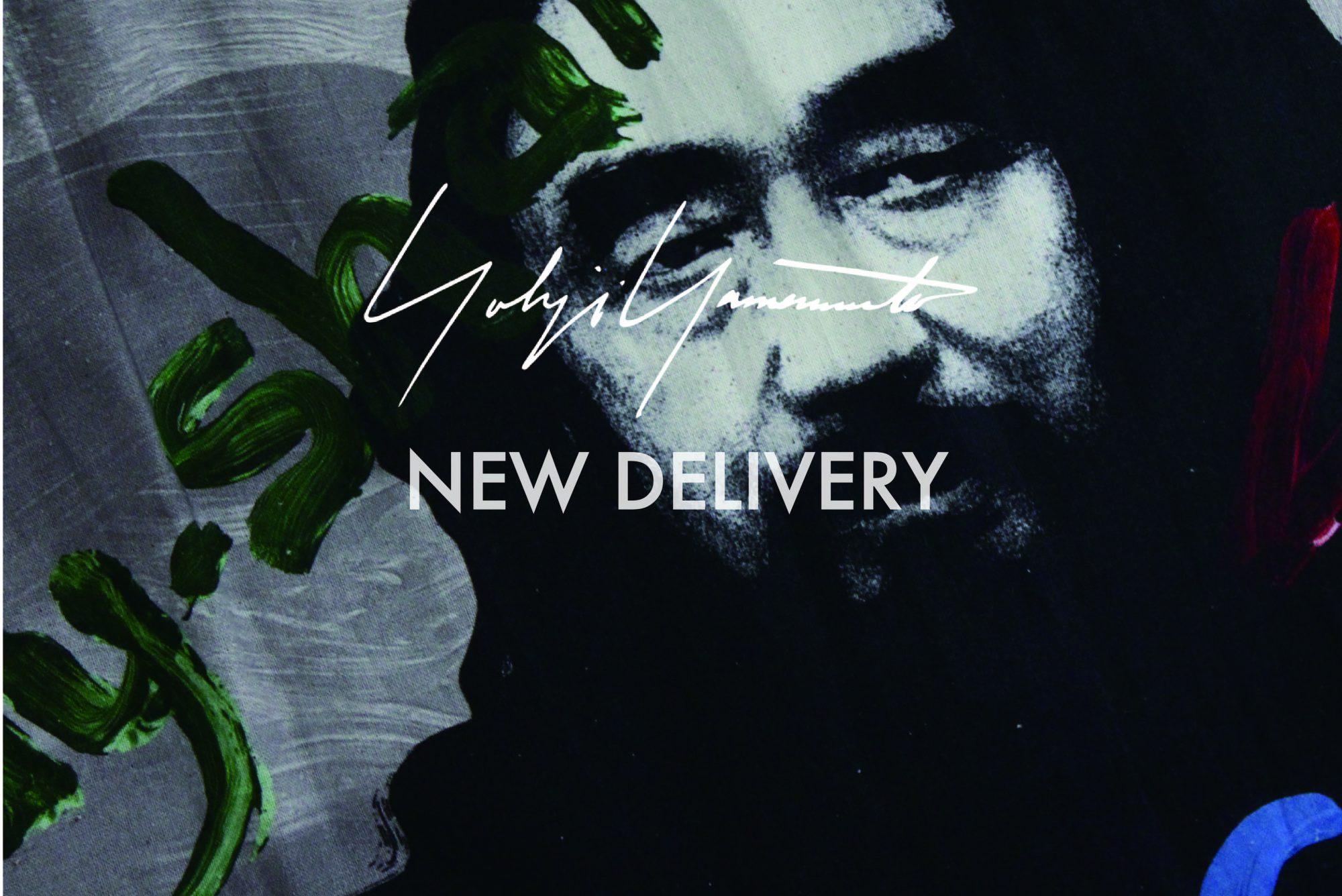 YOHJI YAMAMOTO New Delivery START !!!