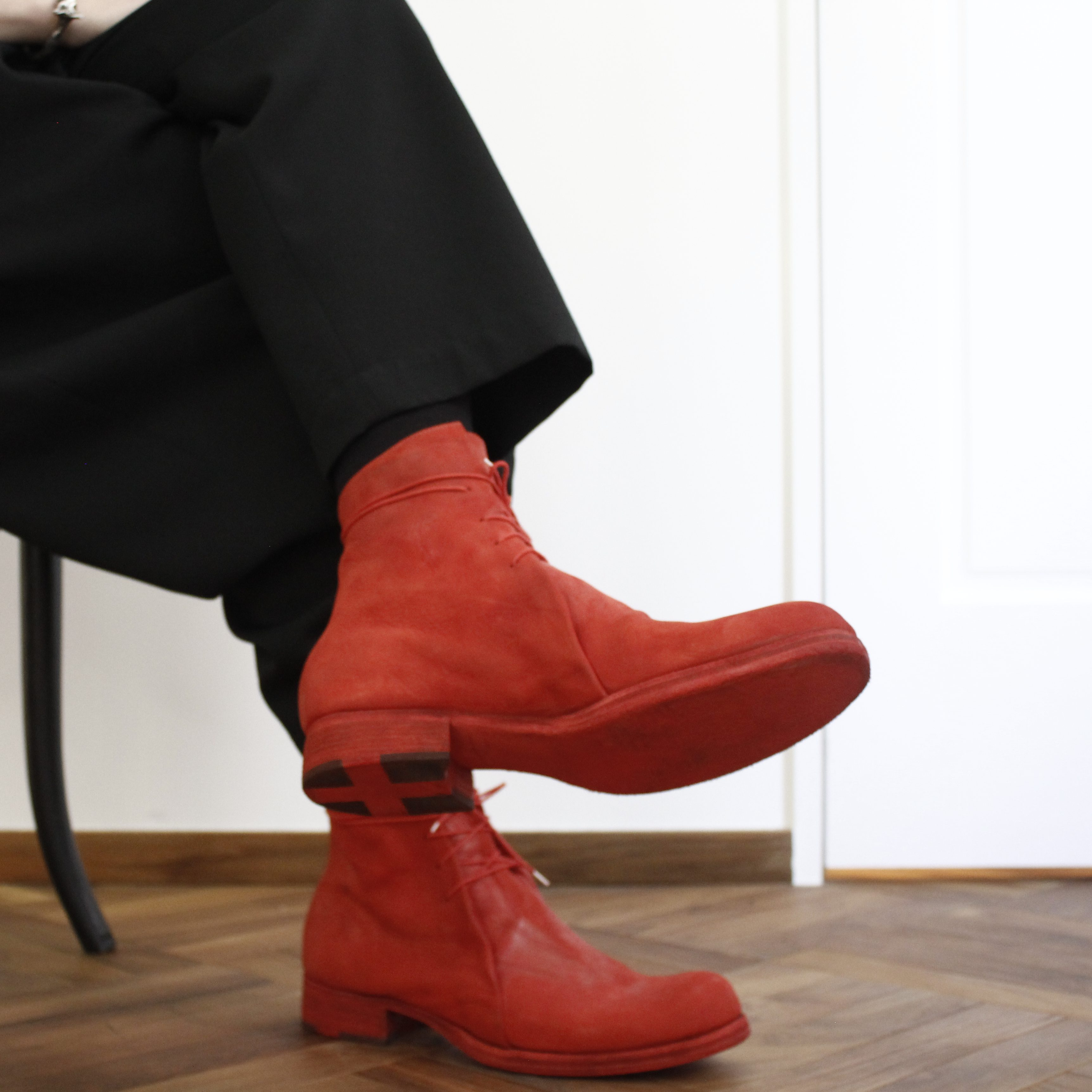 m.a+  double fold short boot