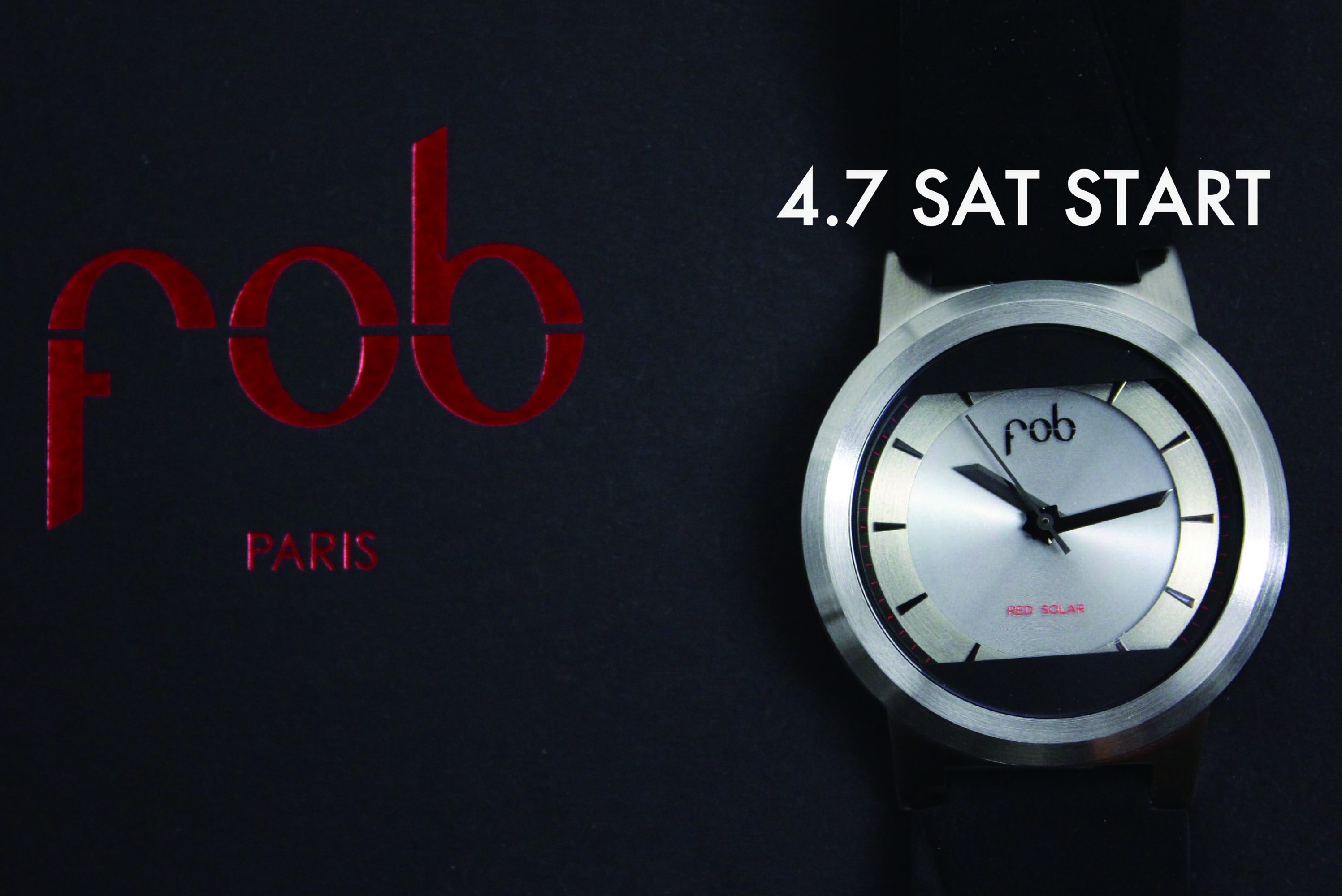 fob PARIS REDSOLOR COLLECTION 4.7(sat) START!!