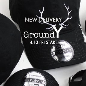 Ground Y × BAMBI NAKA × NEW ERA ® 4.13(Fri) START!!